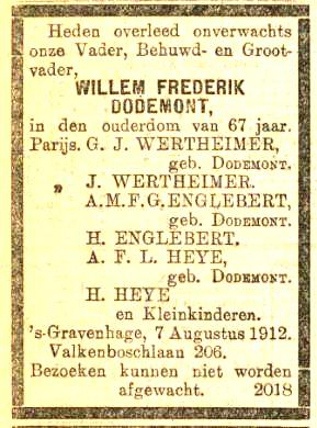 Haagsche courant 1912